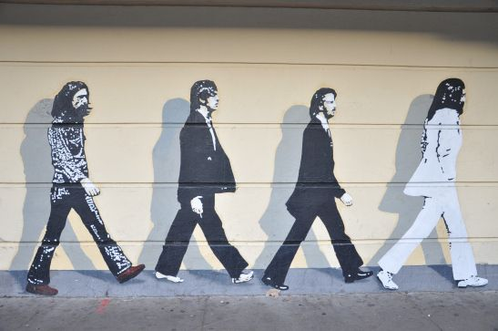 22 best chico ca images on pinterest chico california for Beatles abbey road wall mural