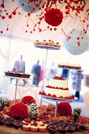 Cake And Punch Reception Decor : 17 Best images about Cake & Punch reception ideas on ...
