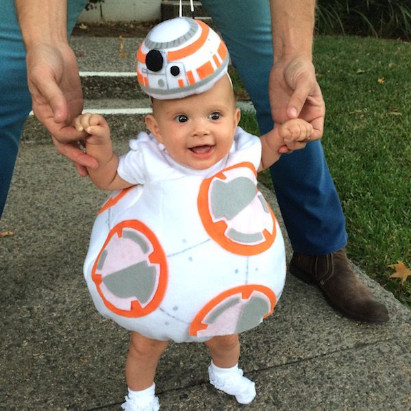 even before star wars the force awakens was released in theaters bb 8 pregnant halloweeninfant halloween costumesfunny - Infant Penguin Halloween Costume