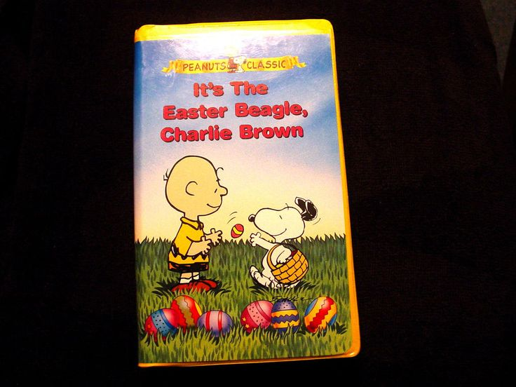 ITS THE EASTER BEAGLE  CHARLIE BROWN PEANUTS CLASSIC  VHS TAPE