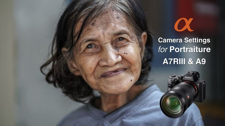 Set up and save the optimum or best custom camera settings for shooting portrait photographs when using a Sony Alpha A7RIII mirrorless camera