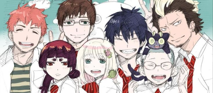 """""""Blue Exorcist """"in a theatrical play begins from today. ついに舞台 青の祓魔師本日から!!よろしくおねがいします!当日券とかもあるはずですんで興味あるひとぜひに!٩( ´◡` )( ´◡` )۶ pic.twitter.com/dPrZjtP33V by Kazue Kato"""