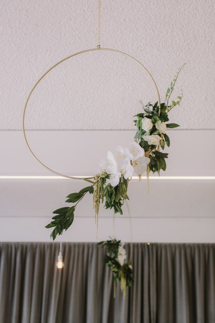 Summer floral styling with gold accents