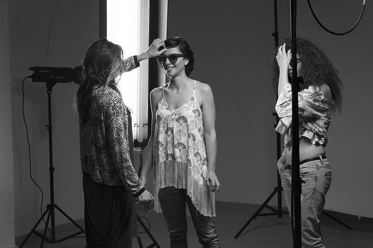 Double O Sunglasses photo shooting backstage! Special thanks to Nikolas Leventakis(photographer), Manos Vidakis, Love to Love Fashion Studio, Μπικουτί/ bikouti , Tolis Kaparounakis, Alexandros Bagramyan, Evelina Kalogeraki, Aikaterini Pitropaki !