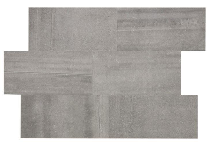 Bricmate J Limestone Light Grey, härlig variation i plattans nyans och mönster.