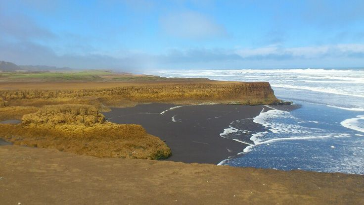 Playa Puaucho. Saavedra