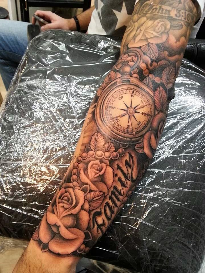 Great Part Of A Sleeve Tattoosmenssleeves Tattoos