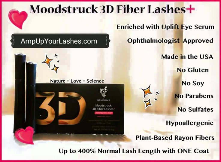 Love our Original 3D Fiber Lash Mascara? Then you are going to flip when you try our 3D Fiber Lash+!