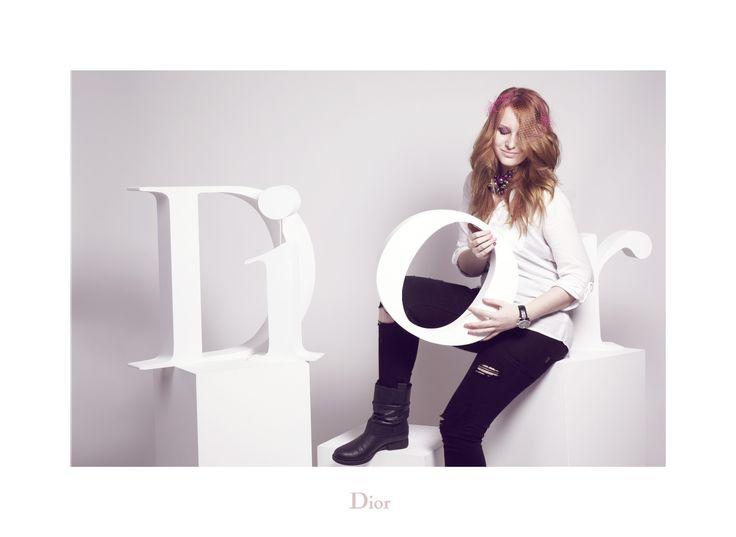 Me channeling Dior spirit
