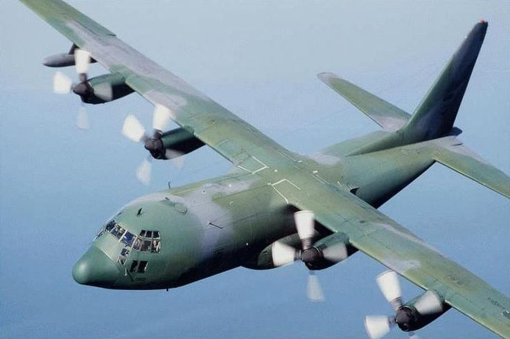 This C-130 is the kind of plane they used to get from the US to the Congo. #rothzroom