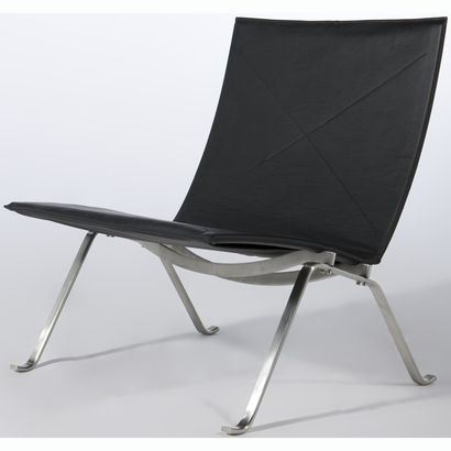 Kjaerholm Leather Easy Chair