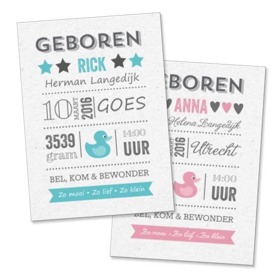 Leuk al die verschillende lettertypes door Koningkaart