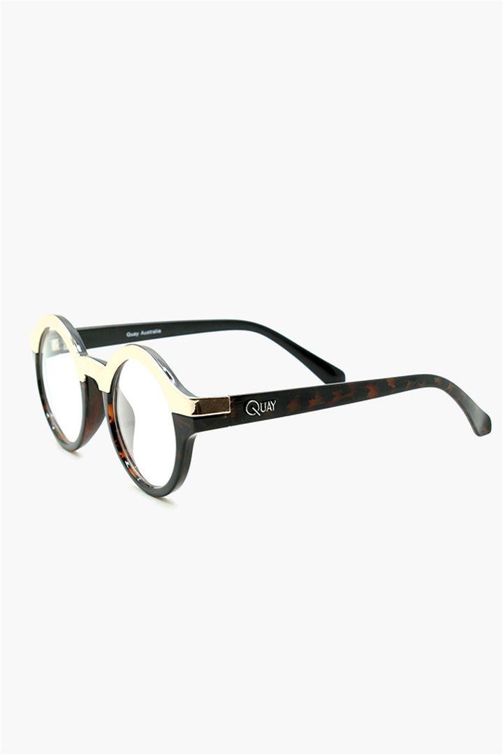 Ohmio Quay Glasses in Brown//