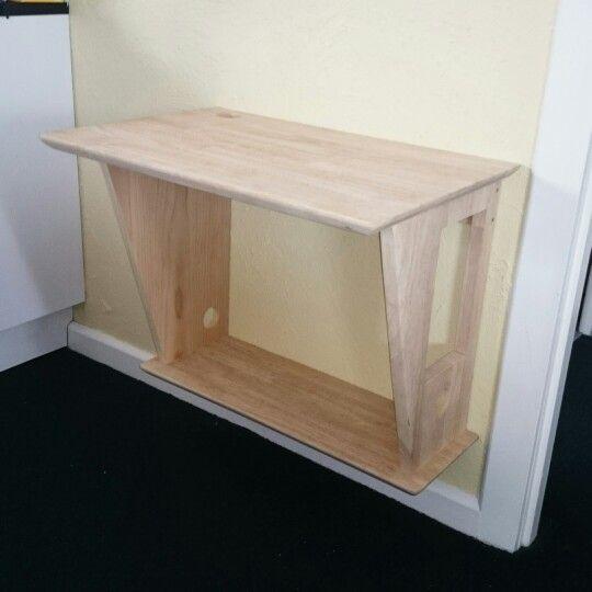 25 best ideas about floating computer desk on pinterest. Black Bedroom Furniture Sets. Home Design Ideas