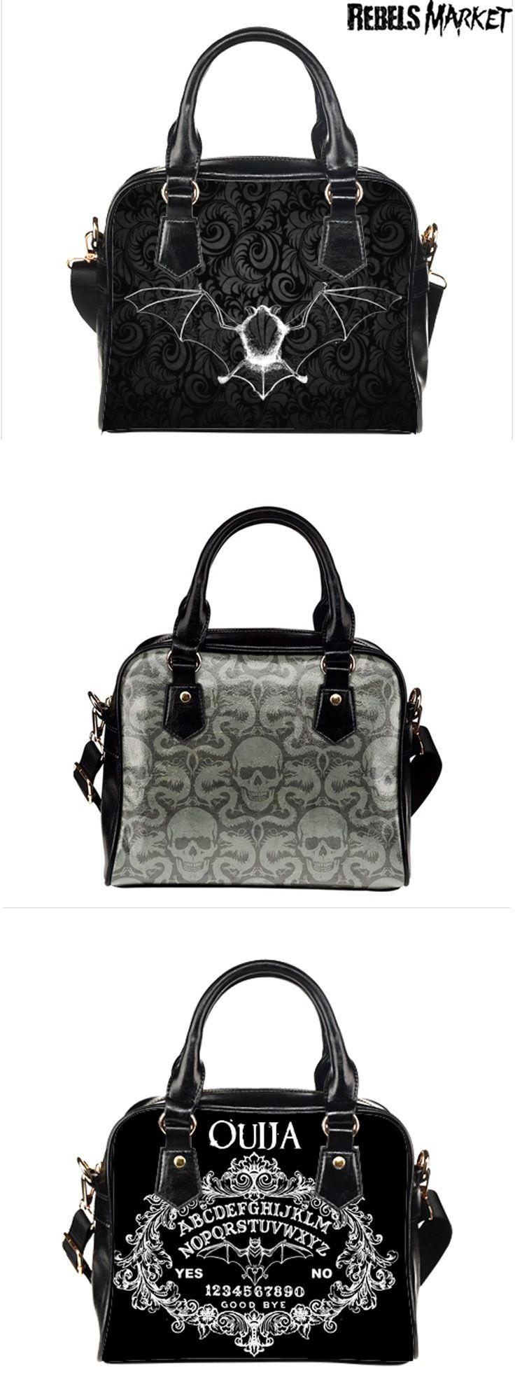 Shop goth handbags at RebelsMarket.