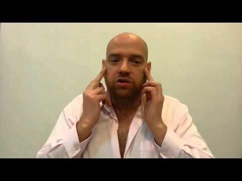 Остеопатия убирает морщины - массаж лица. Вернуть молодость и красоту. Часть 2 - YouTube