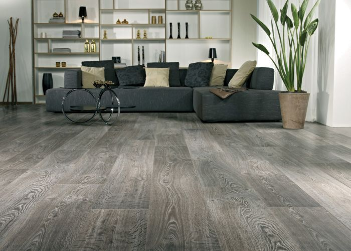Sophisticated Gray Laminate Flooring