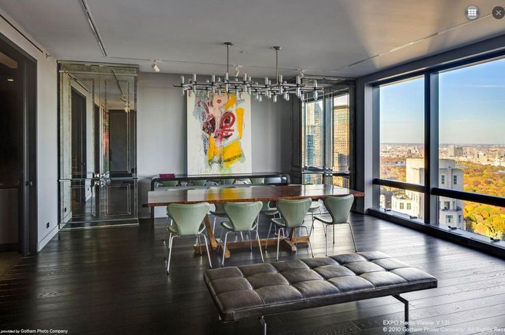 'Dance On the Clouds' In This $23.5M Time Warner Condo - Curbed NY