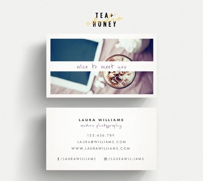 30 Creative Business Card Designs For Photographers Photographer Business Card Design Business Cards Creative Business Card Design
