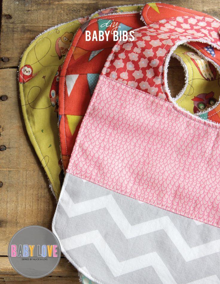 DIY Baby Bibs