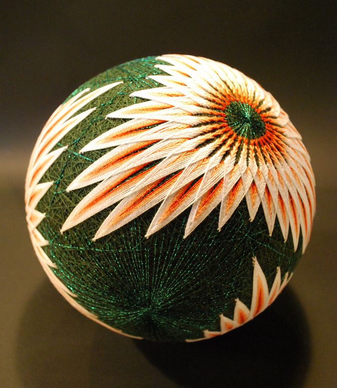 A Huge Collection of Embroidered Temari Spheres by an 88 Year Old Grandmother toys textiles embroidery balls