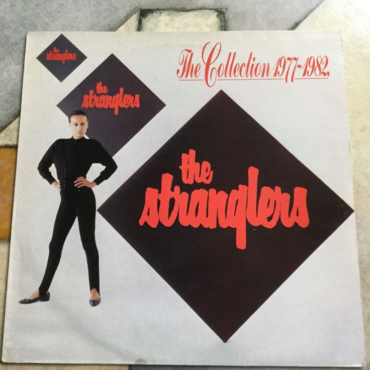 The Stranglers The Collection 1977-1982 on Liberty Records compilation