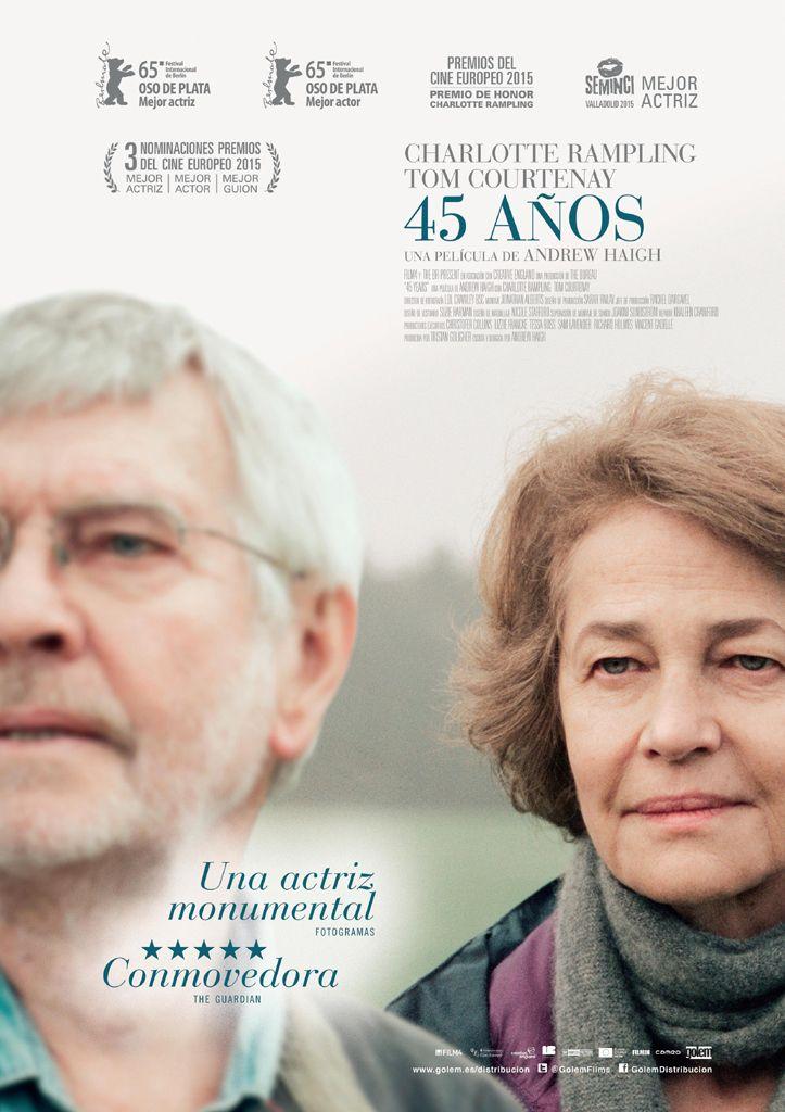 45 años (2015) Reino Unido. Dir.: Andrew Haigh. Drama. Romance. Vellez - DVD CINE 2542