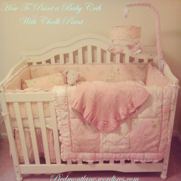 Best + Painted cribs ideas on Pinterest  Crib makeover Painted