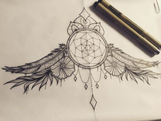 25+ Best Ideas about Sternum Tattoo