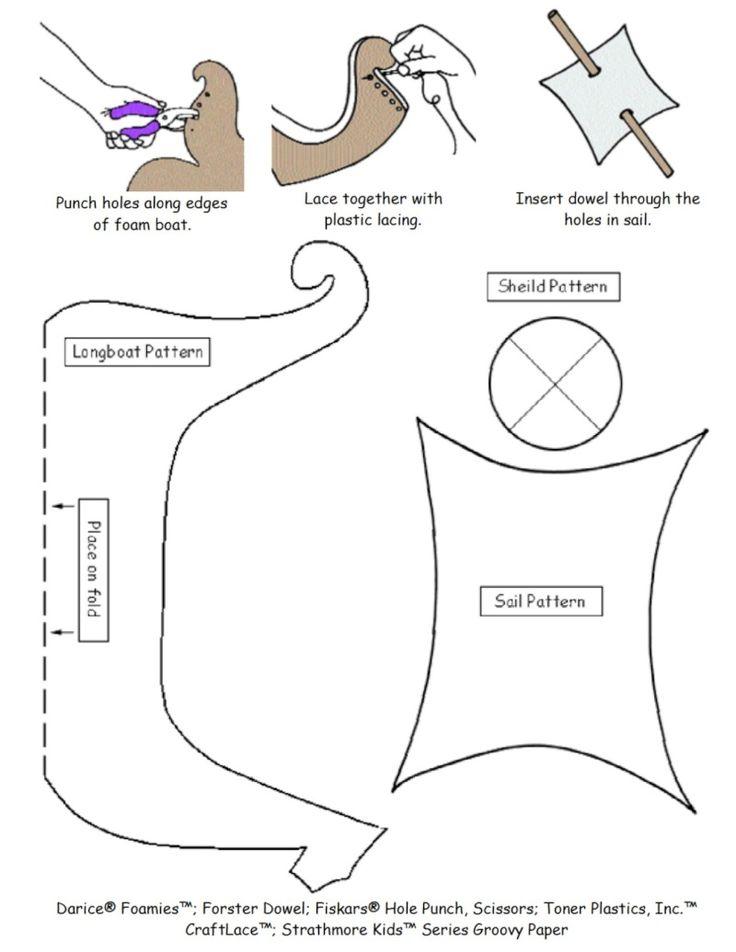 Viking crafts for kids.....