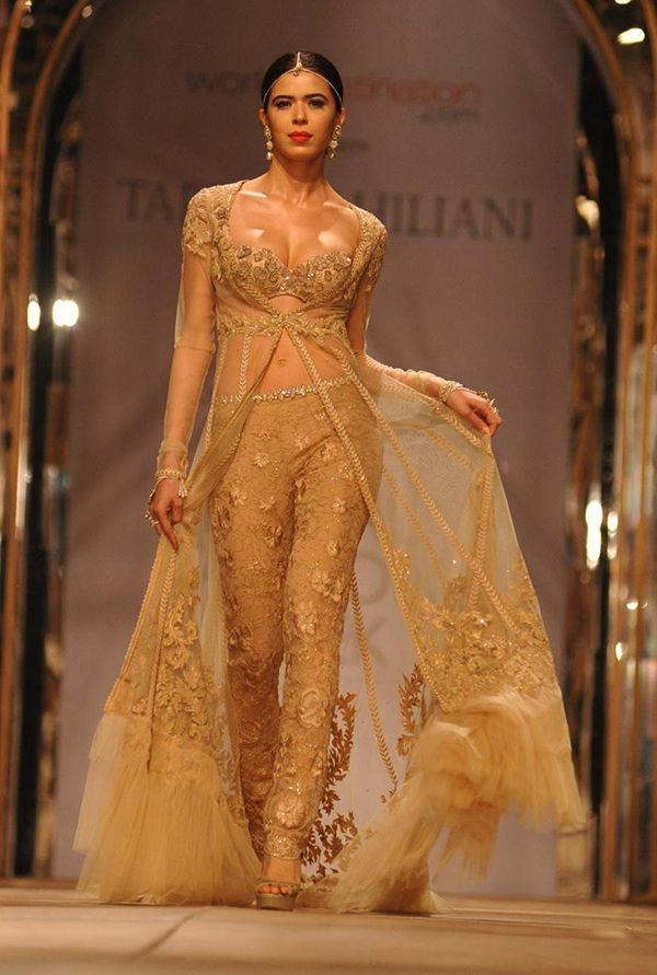 Indo Western Bridal Wear Looking For Non Traditional