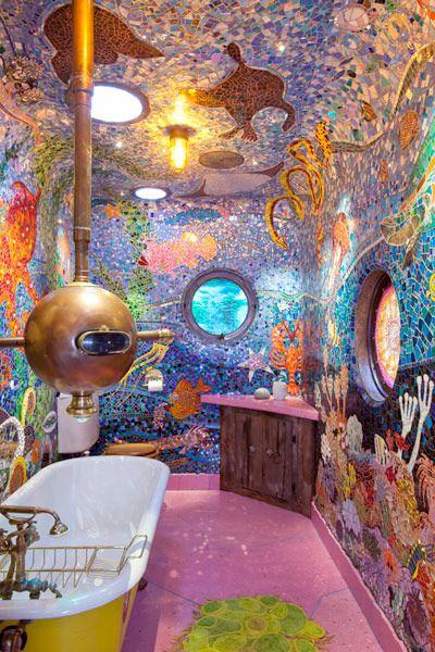 Swedish Bathroom- 18 badrum utöver det vanliga (gissar att du aldrig sett något liknande) - Sköna hem