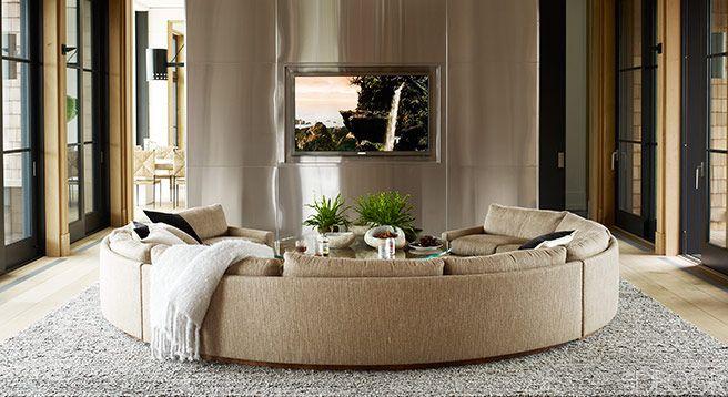 Living Room - ELLE DECOR