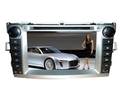 7 inch DVD Radio for Toyota Verso - GPS Navigation DVB-T RDS USB
