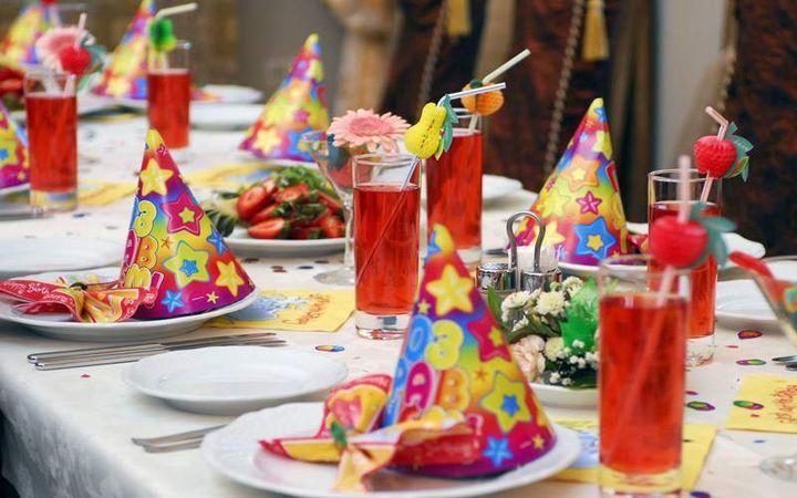 На детский день рождения десерт