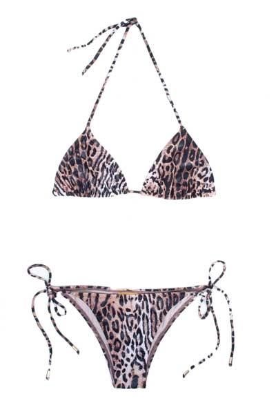 Biquini Capri Leopardo Jo de Mer - $167,30