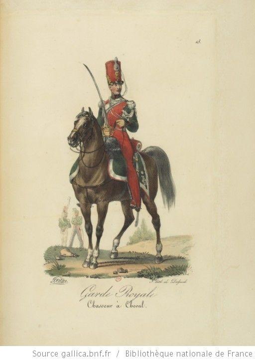 [Maison du Roi et garde royale de Louis XVIII, 1817.] / Ch. Aubry - 20