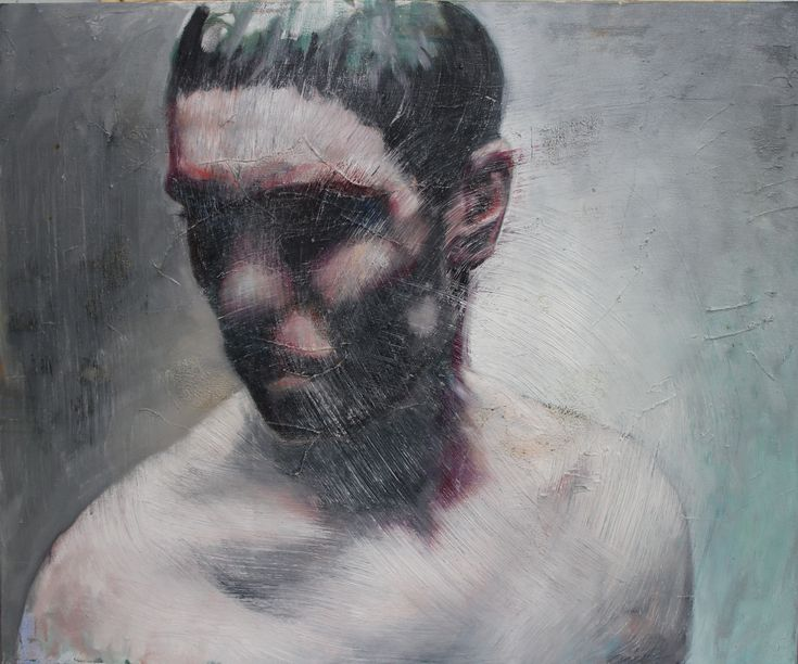 LOT 13 JÁNOS HUSZTI Prophet Oil on canvas 80 × 100 cm (31.5 × 39.4 inch) Estimate €1,000 - €1,400 Starting price €900  http://lavacow.com/current-auctions/lavacow-autumn-auction/prophet.html