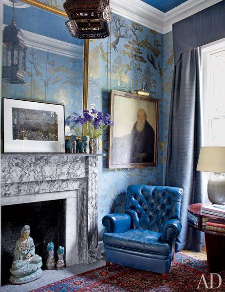 513 best images about rooms on pinterest antiques for Austin mural wall