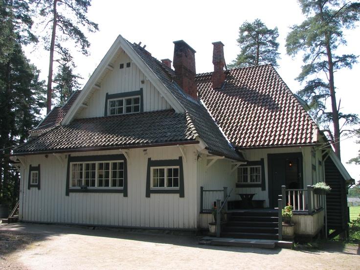 Ainola, Järvenpää, Finland. Ainola was the home of composer Jean Sibelius and his family.