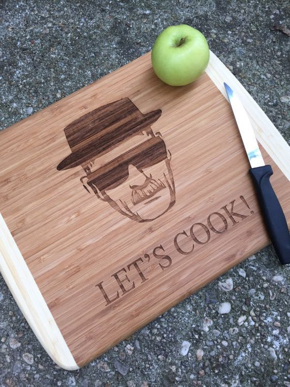 Breaking Bad Inspired Cutting Board(AS SHOWN)