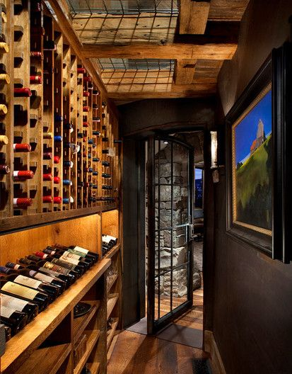 See Through Wine Cellar, Traditional Wine Cellar, Denver