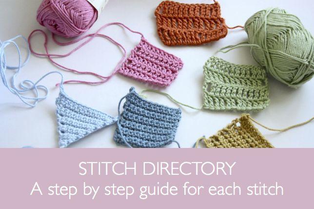 Crochet Corner: guide ✿⊱╮Teresa Restegui http://www.pinterest.com/teretegui/✿⊱╮