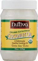 Extra Virgin Coconut Oil: I use this as hair condition, make-up remover, mosturizer, and food.