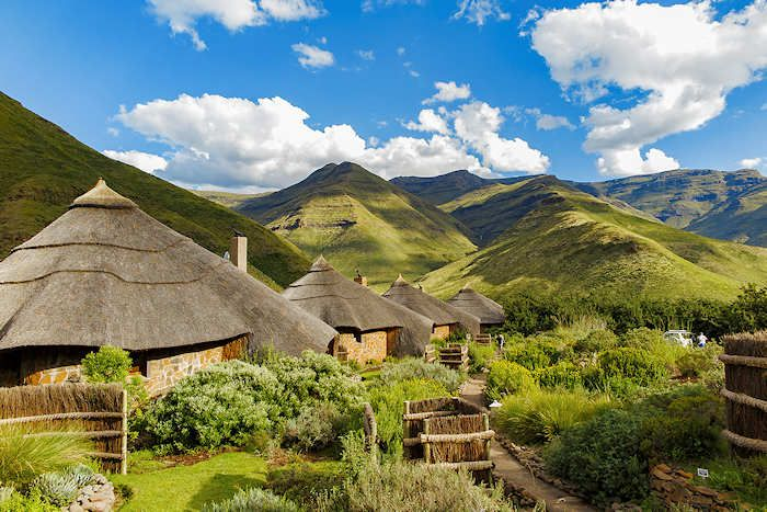 The best place to stay in Lesotho: Maliba Lodge !