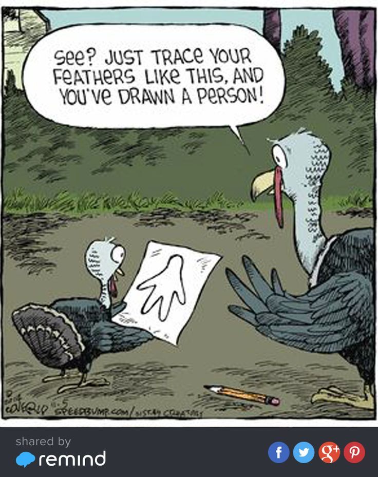 So that's how turkeys make #DIY art... :) Kick off the Thanksgiving break by sending a smile to colleagues and students.