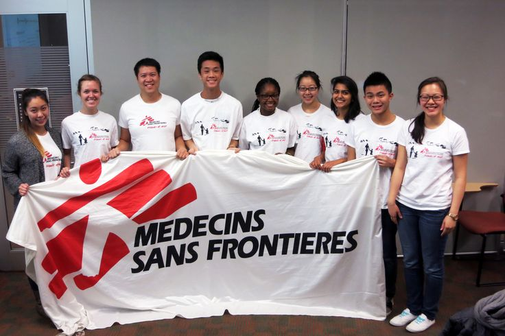 Are you a student? Become part of your University's Friends of MSF group and support our work around the world! Friends of MSF (FoMSF) are student societies from various Canadian universities.
