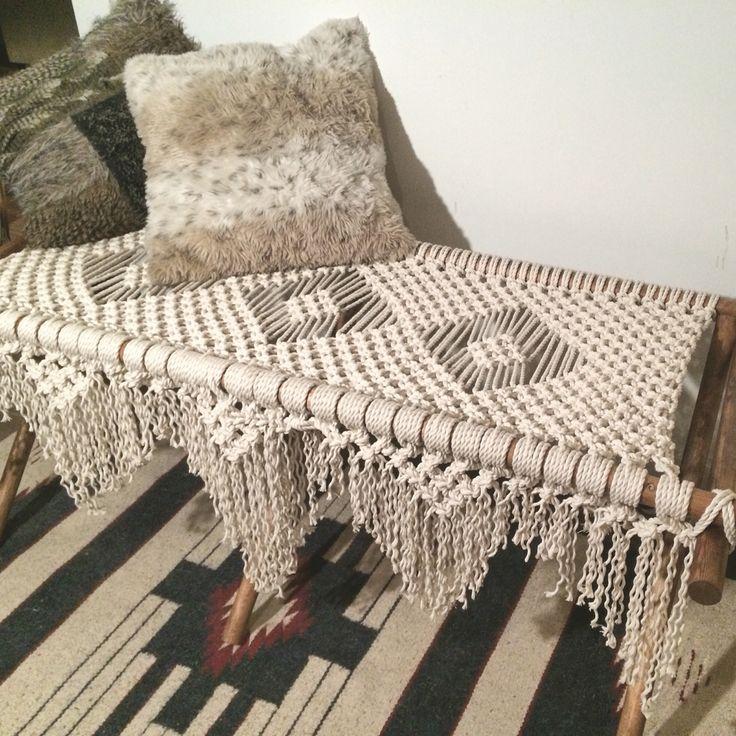 Macrame Bench
