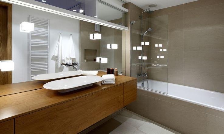 minimalist bathroom, Vinohradis, RULES architects (SK)