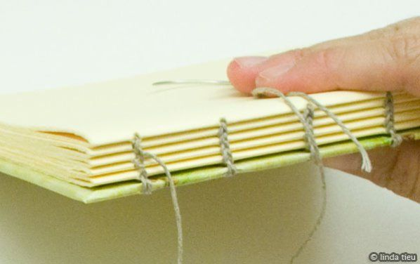 Coptic Book Binding Tutorial.